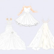 Personalized Bridal Shower Paper Doll