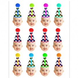 First Birthday Cupcake Toppers
