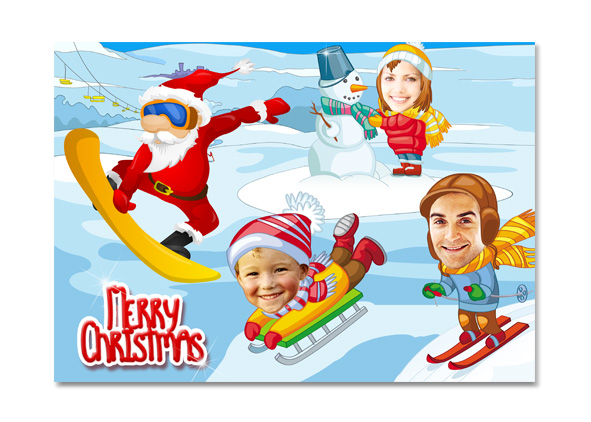 Cute and Funny Christmas Card
